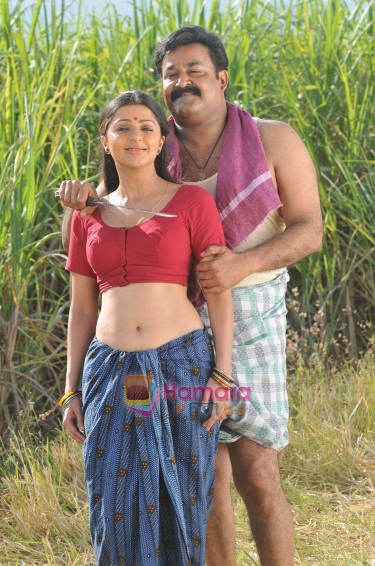 Bhramaram Bhumika Chawla Mohanlal in the Still from movie Bhramaram Bhumika
