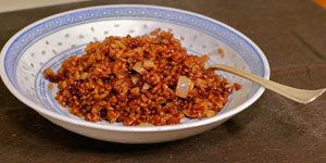 Bhutanese red rice Lotus Foods Bhutanese Red Rice Pilaf With Cranberries