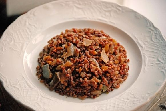Bhutanese red rice Bhutanese Red Rice Pilaf The Silk Road Gourmet