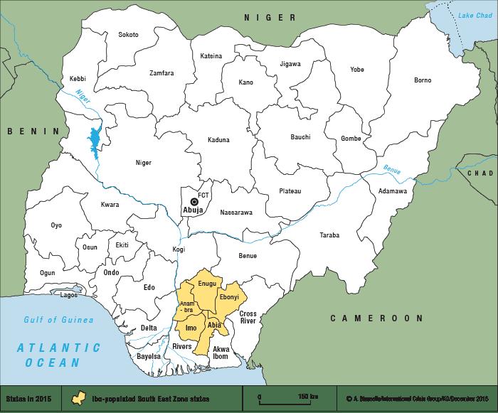 Biafra Nigeria39s Biafran Separatist Upsurge Crisis Group