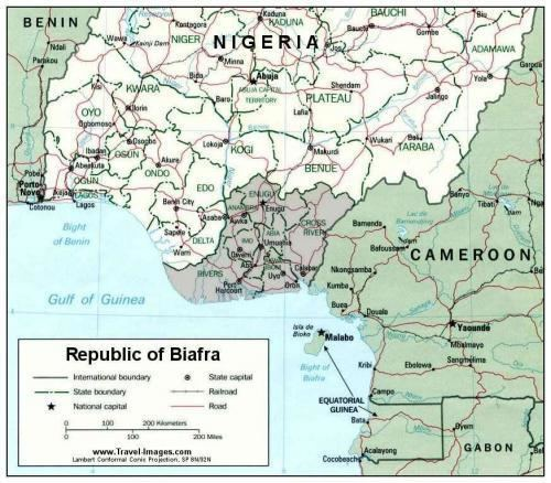 Biafra Republic of Biafra 19671970 The Black Past Remembered and