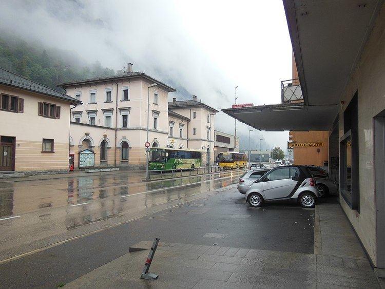 Biasca railway station