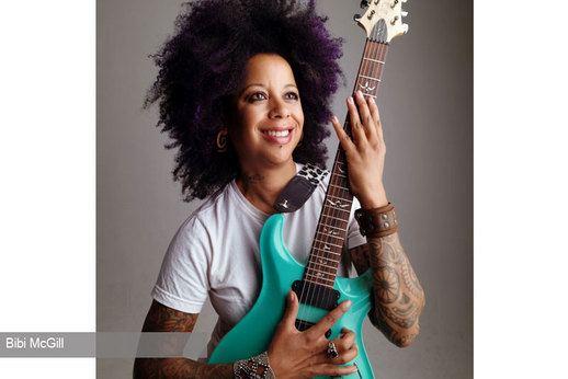 Bibi McGill BiBi McGill Beyonc39s lead guitarist and Honda enthusiast