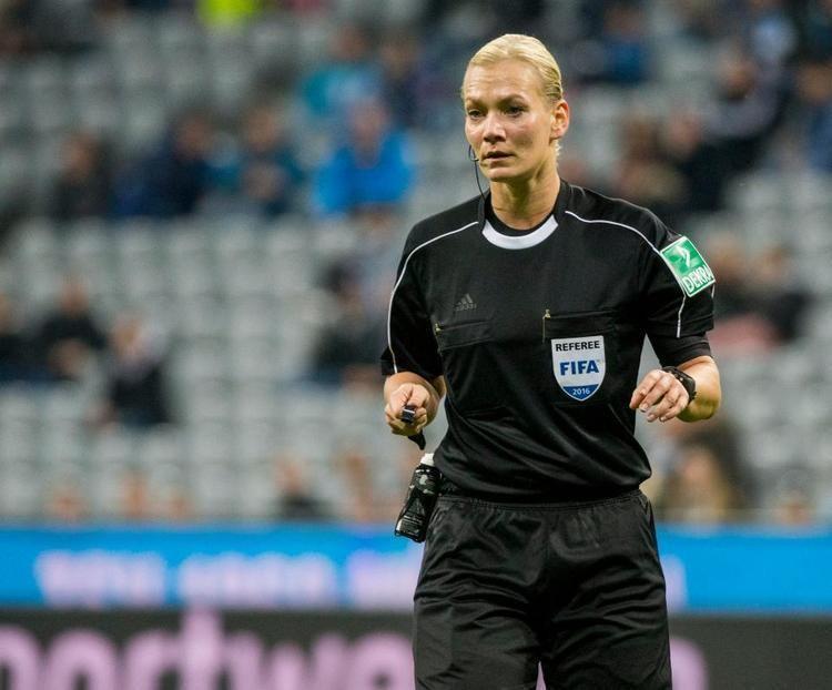 Bibiana Steinhaus Bibiana Steinhaus will become Bundesligas firstever female referee
