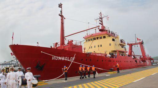 B.I.C. Humboldt BIC Humboldt retorn de la Antrtida 82 das despus de estudiar el