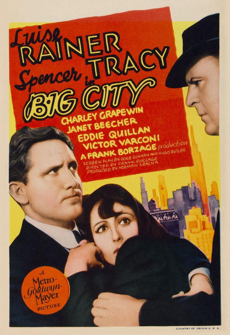 Big City (1937 film) Big City 1937