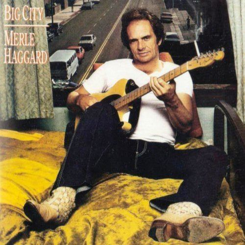 Image result for merle haggard big city single images