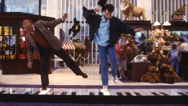 Big (film) movie scenes big piano scene