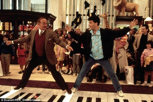 Big (film) movie scenes Immortalized FAO Schwarz gained global fame in June 1988 after the film Big