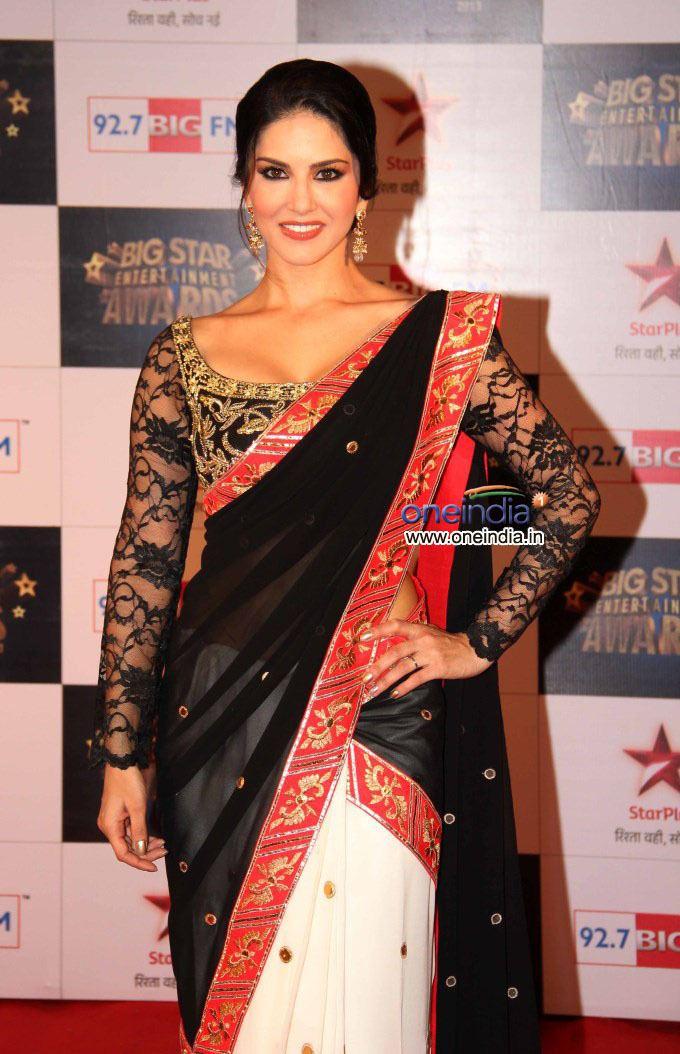 BIG Star Entertainment Awards Sunny Leone at the Big Star Entertainment Awards 2013 Filmibeat