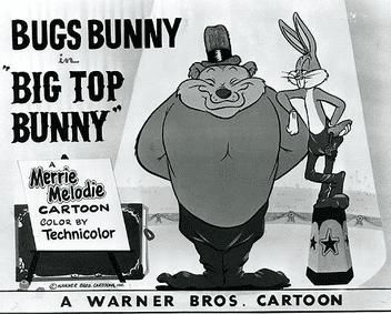 Big Top Bunny movie poster