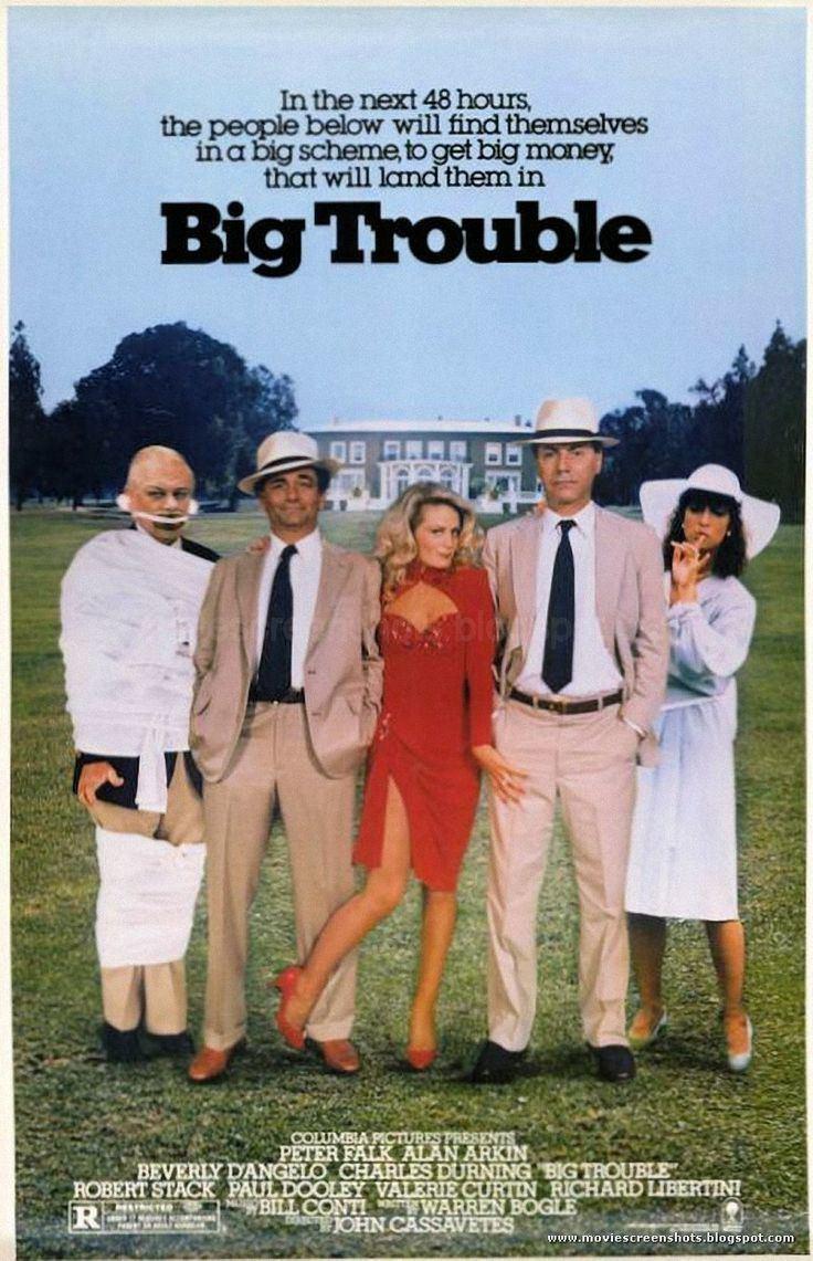 Big Trouble (1986 film) Big Trouble 1986 Stars Peter Falk Alan Arkin Beverly DAngelo