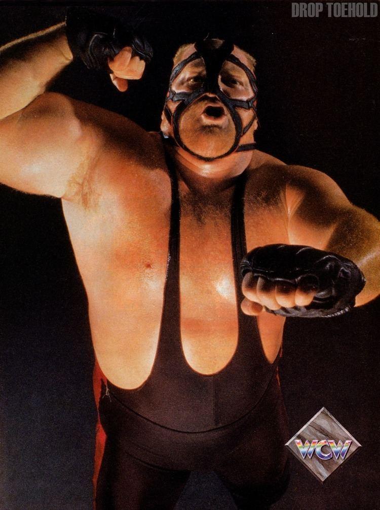 Big Van Vader Drop Toehold Big Van Vader WCW Magazine Collector