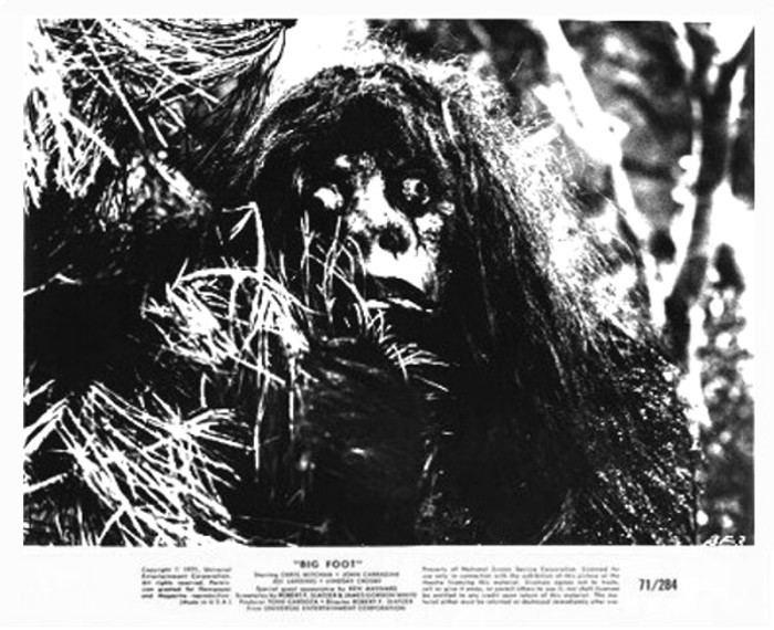 Bigfoot (1970 film) Bigfoot 1970 3B Theater Poster Archive