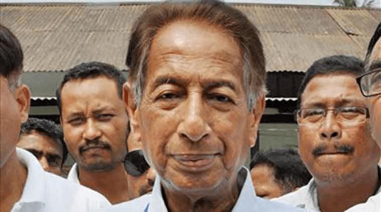 Bijoy Krishna Handique Former union minister B K Handique dead The Indian Express