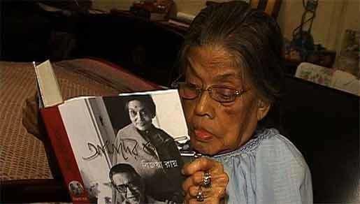 Bijoya Ray Satyajit Ray39s widow Bijoya Ray dead 53021
