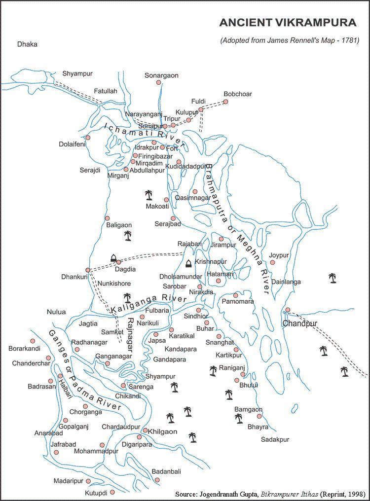 Bikrampur History of Bikrampur East Bengal
