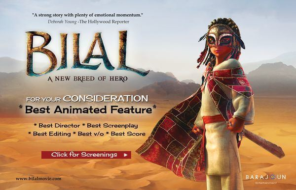 Bilal: A New Breed of Hero Bilal a New Breed of Hero in the Run for Best Animated Feature for