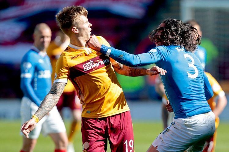Bilel Mohsni Rangers defender Bilel Mohsni defiant after punching