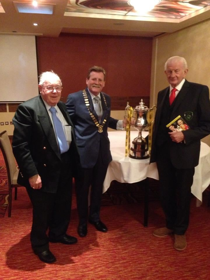 Bill Attley with Bill AttleyDes Weir and the Setanta Cup before the k Flickr