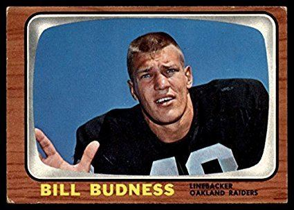 Bill Budness Amazoncom Football NFL 1966 Topps 105 Bill Budness Excellent