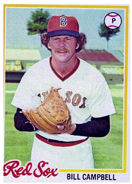 Bill Campbell (baseball) Bill Campbell 1978 My First Year with the Red Sox Pinterest