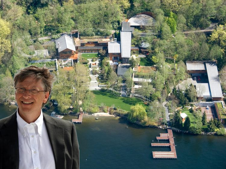Bill Gates's house 19 Crazy Facts About Bill Gates39 House Business Insider