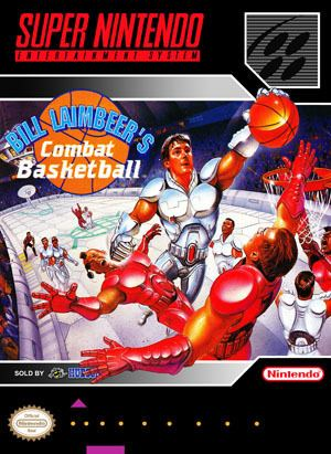 bill laimbeers combat basketball snes