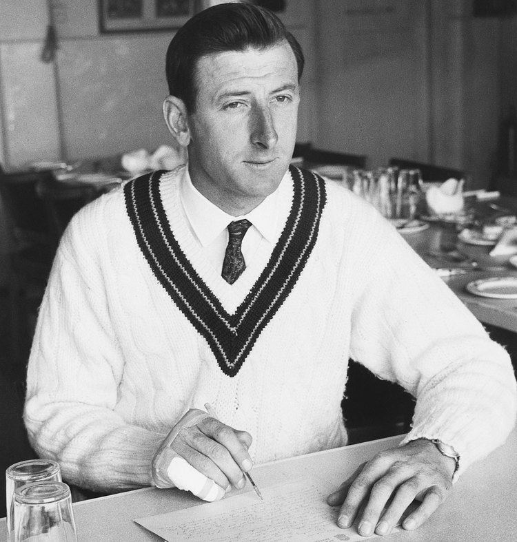 Bill Lawry (Cricketer) playing cricket