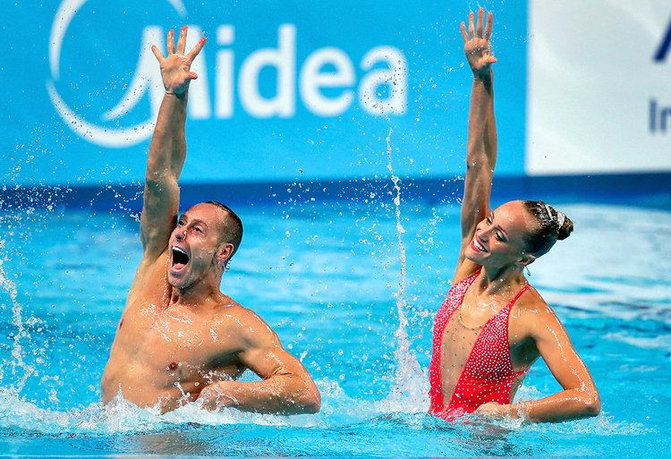 Bill May (synchronized swimmer) Cicero39s Bill May wins gold in return to synchronized