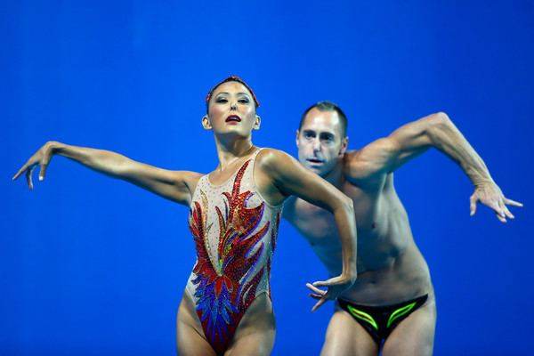 Bill May (synchronized swimmer) Bill May and Kristina Lum Underwood Photos Photos Synchronised