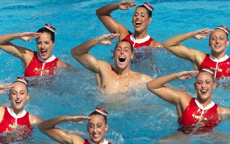 Bill May (synchronized swimmer) Synchronized Swimmer Favored to Win Double Gold Al