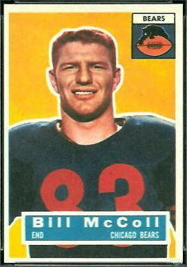 Bill McColl wwwfootballcardgallerycom1956Topps83BillMcC