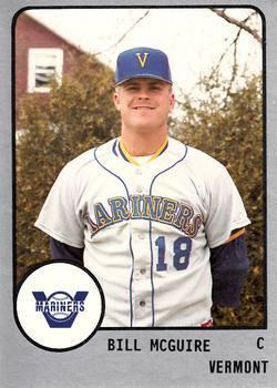 Bill McGuire (baseball) Bill McGuire Gallery The Trading Card Database