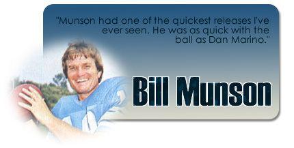 Bill Munson Seattle Seahawks Spirit of 1976 Page