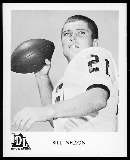 Bill Nelsen Bill Nelson QB Want to use this image See the About page bill