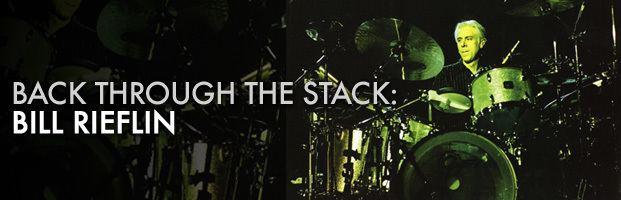 Bill Rieflin Back Through The Stack Bill Rieflin Modern Drummer Magazine