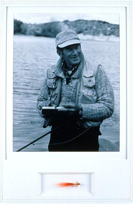 Bill Schaadt Schaadt Bill Fly Plates Sport Fishing Museum