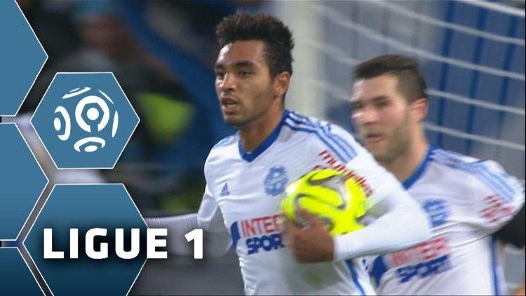 Billel Omrani But Billel OMRANI 68 Montpellier Hrault SC Olympique de