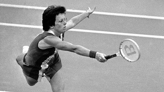 Billie Jean King Billie Jean King among Revolutionary heroes in sports Page 2 ESPN