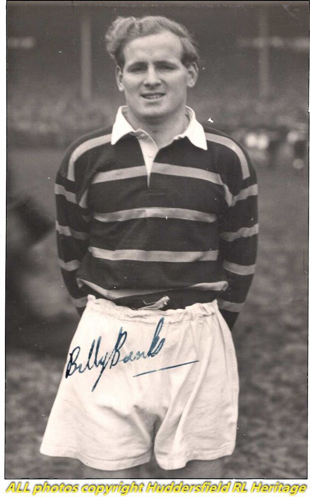 Billy Banks (rugby) Billy Banks Huddersfield RLFC Huddersfield Rugby League Heritage