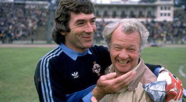 Billy Bingham Northern Ireland v Greece Legend Billy Bingham would be elated by