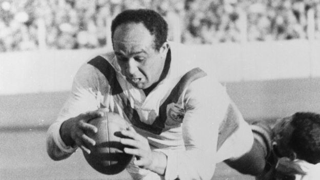 Billy Boston Billy Boston Wigan rugby legends statue is unveiled BBC News