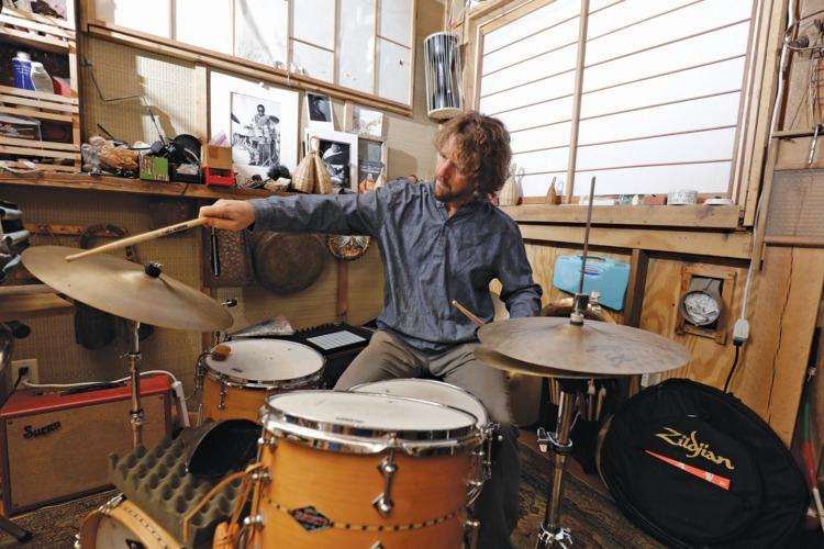 Billy Martin (percussionist) Medeski Martin and Woods Billy Martin Modern Drummer Magazine
