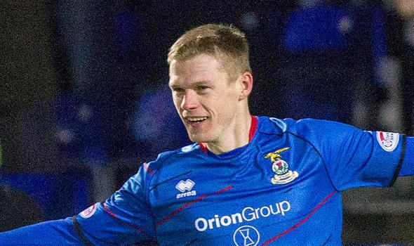 Billy Mckay Billy McKay is set to stay at Caley Thistle Football