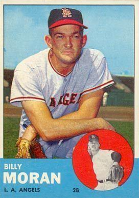 Billy Moran 1963 Topps Billy Moran 57 Baseball Card Value Price Guide