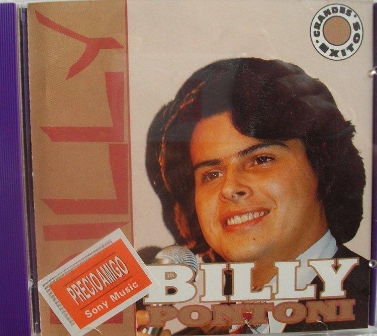 Billy Pontoni BILLY PONTONI Grandes exitos SonyColombiaCD
