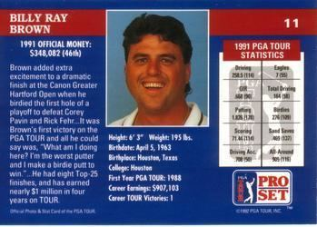 Billy Ray Brown Billy Ray Brown Gallery The Trading Card Database