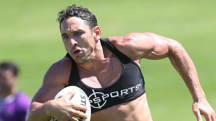 Billy Slater Billy Slater Melbourne Storm injury Career not over The CourierMail