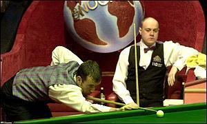 Billy Snaddon BBC SPORT WORLD SNOOKER CHAMPIONSHIP Billy Snaddons diary